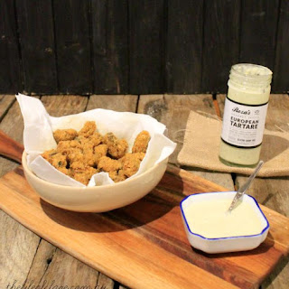 Crumbed Mussels with European Tartare.
