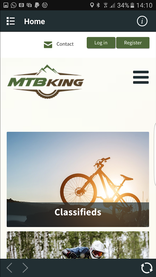 MTBking- screenshot