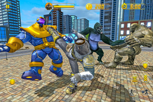 Gorilla Hero Future Battle Vice Town