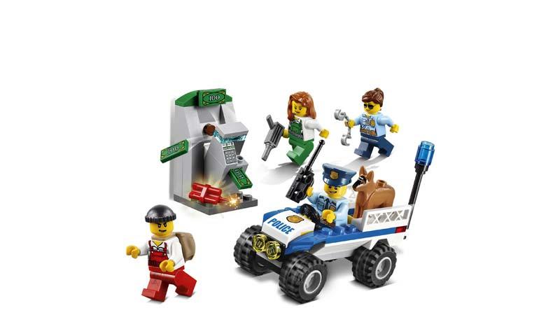 Contenido de Lego® 60136 Set de introducción: Policía