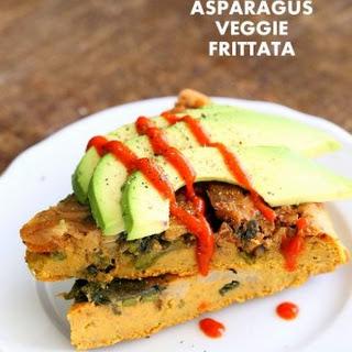 Lentil Veggie Asparagus Frittata