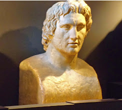 Photo: Alexander the Great, copy of the so-called Azara Hermes .......... Alexander de Grote, kopie van de zg. Azara Hermes
