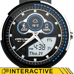 Driver Watch Face v4.0.0