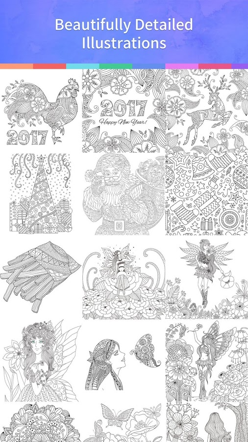Coloring Book 2017: captura de pantalla