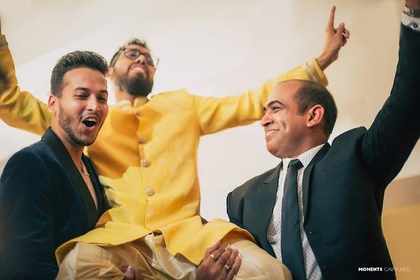 Wedding photographer Saikat Sain (momentscaptured). Photo of 28.02.2018