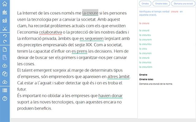 maxiGramar corrector de català