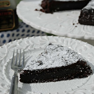 Patron Chocolate Coffee Tequila Cake