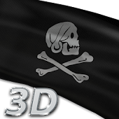 Pirate Flags Live Wallpaper 3D