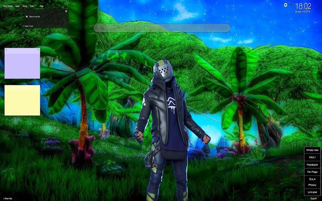 X-Lord Fortnite Skin Wallpapers New Tab