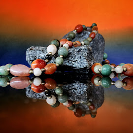 Agate gemstones by Janette Ho - Artistic Objects Still Life