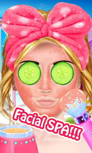 Cute Girl Makeup Salon Game: Face Makeover Spa apkmr screenshots 14
