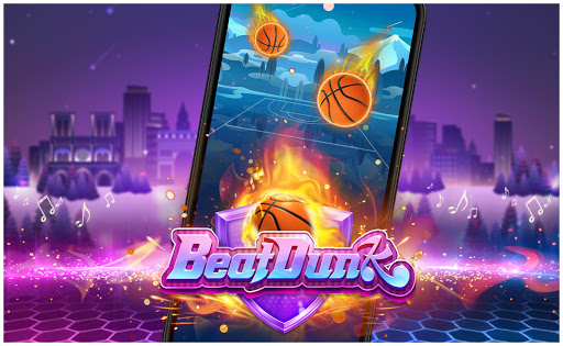 Beat Dunk - Free Basketball with Pop Music 1.2.1 screenshots 1