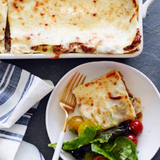 Three Meat Lasagna Recipe