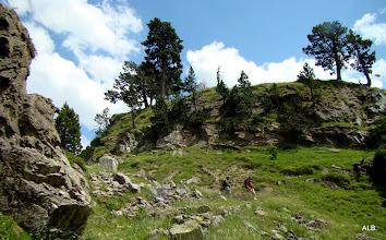 Photo: Por el paso al valle.