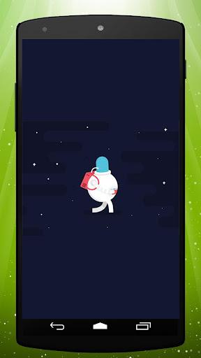 Astronaut Fun Live Wallpaper