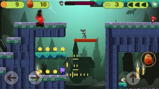 Super Warrior Ninja - The Legend Screenshot