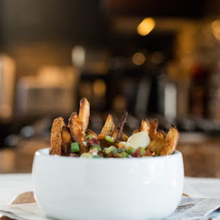Baked French Fry Poutine.