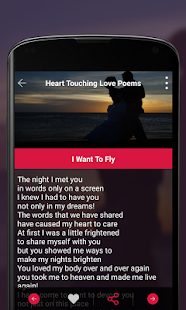Heart Touching Love Poems- screenshot thumbnail