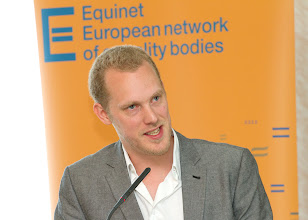 Photo: Michiel Bonte from the Centre for equal opportunities and opposition to racism (Belgium)