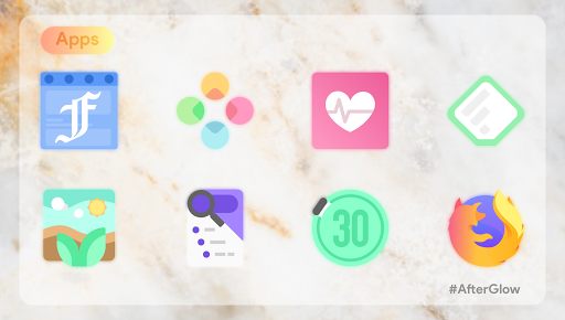 Afterglow Icons Free 2.3.4 screenshots 6