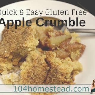 Coconut Flour Apple Crumble Recipes.