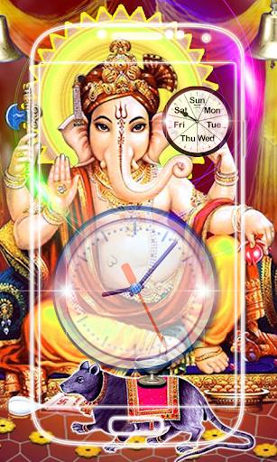 Ganesh Clock Live Wallpaper screenshot 6