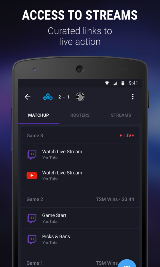 theScore esports- screenshot