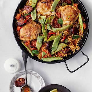 Rice with Chorizo and Chicken Recipe
