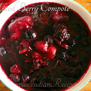 Mixed Berry Compote.
