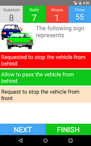 Driving Licence Test - English - screenshot
