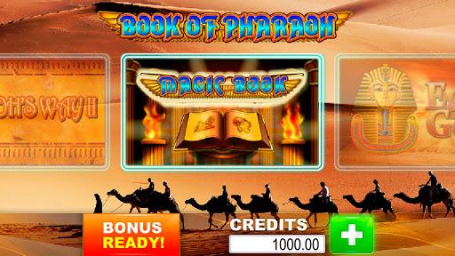 Book of Pharaoh slot machines