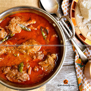 Kerala style Chicken Curry with Coconut Milk.