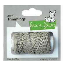 Lawn Fawn Trimmings Hemp Cord 21yd - Natural