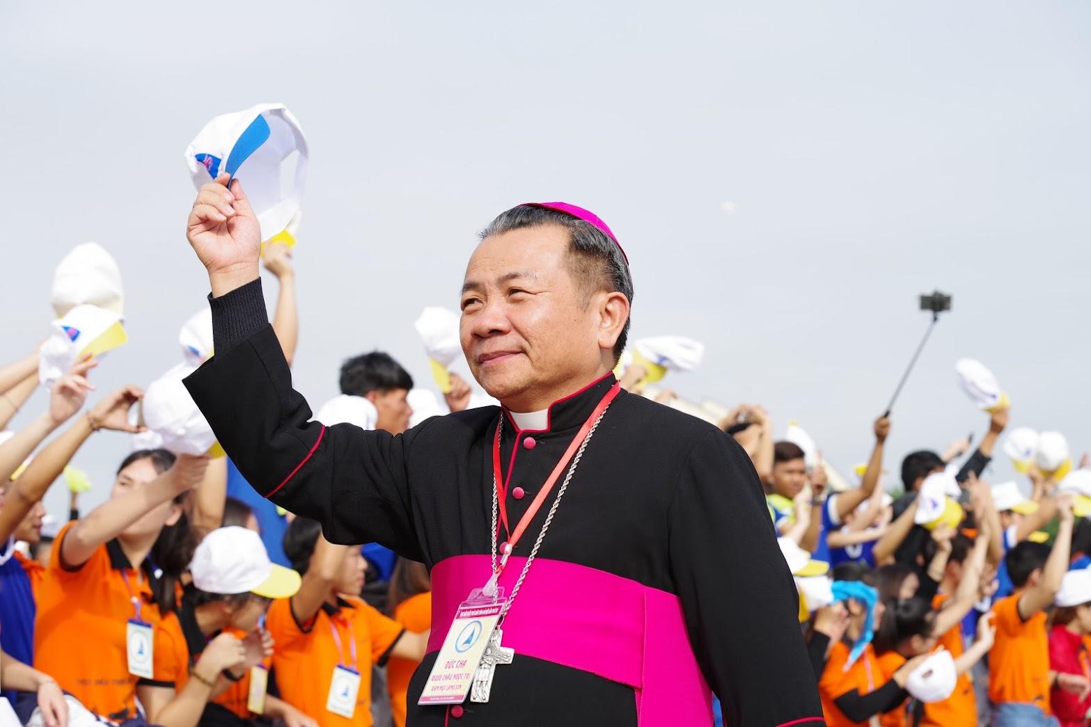 Những hình ảnh đẹp về lễ khai mạc Đại Hội Giới Trẻ giáo tỉnh Hà Nội lần thứ XV tại Thanh Hóa - Ảnh minh hoạ 13