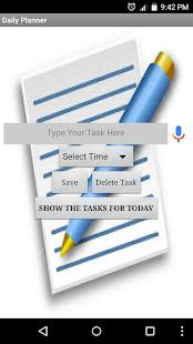 Daily Tasking - náhled