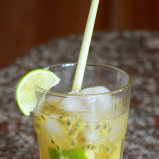 Celebrate with a Cocktail – My Passionfruit Caipirinha.