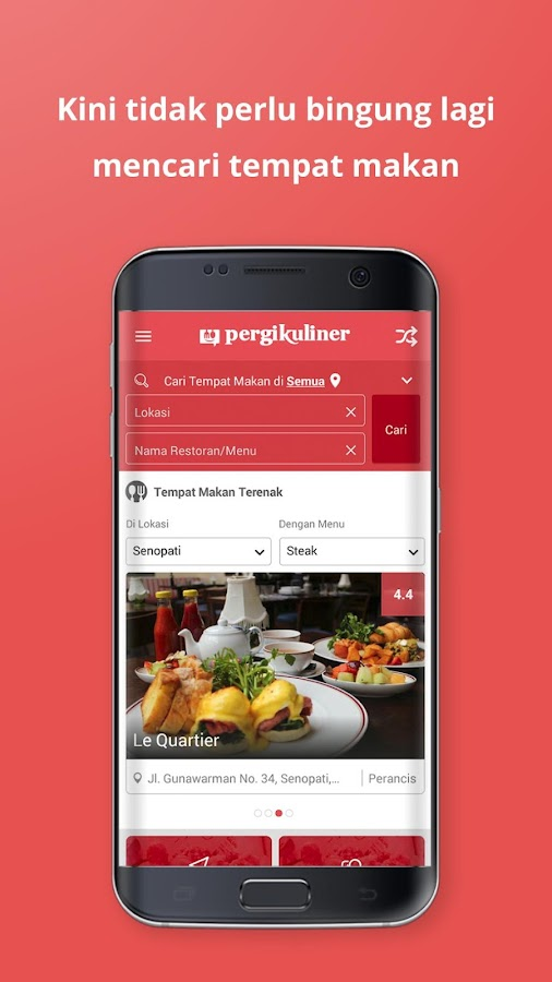PergiKuliner- screenshot