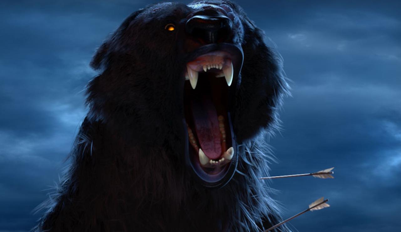 Mor'du – the evil demon bear