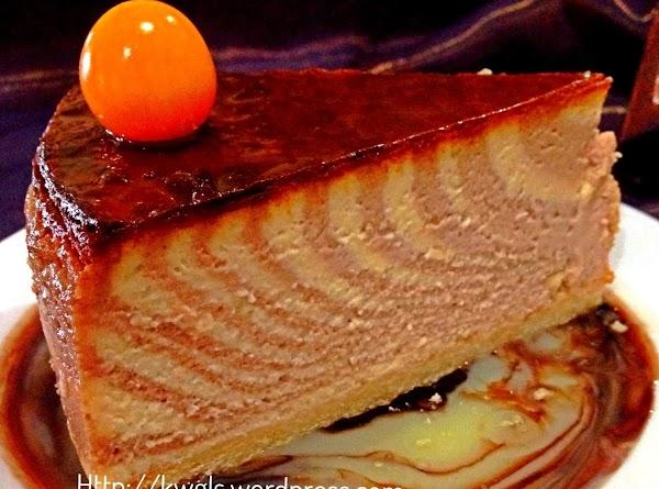 Zebra Pattern New York Cheesecake Recipe