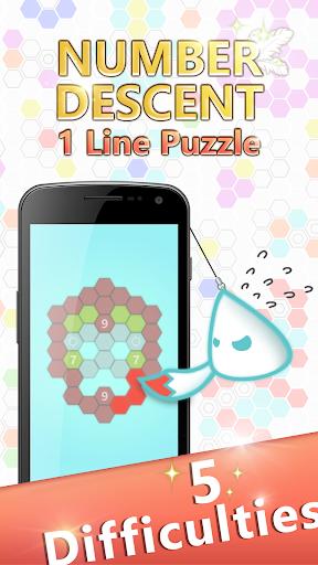 Number Descent: 1 Line Puzzle 2.9 screenshots 4