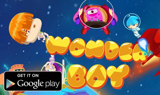 Wonder Boy Galaxy Adventure