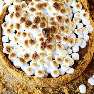 Frozen S'mores Cheesecake