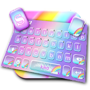 App Cute Colourful Rainbow Keyboard Theme APK for Windows Phone