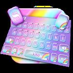 Cute Colourful Rainbow Keyboard Theme