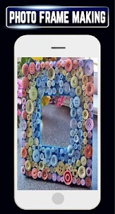 DIY Photo Frames Making Recycled Home Craft Ideas - náhled