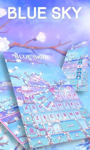Blue Sky GO Keyboard