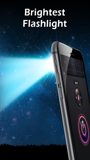 Flashlight Android App Screenshot