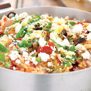 Mediterranean Vegetable Orzo