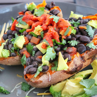 Loaded Southwest Sweet Potato.