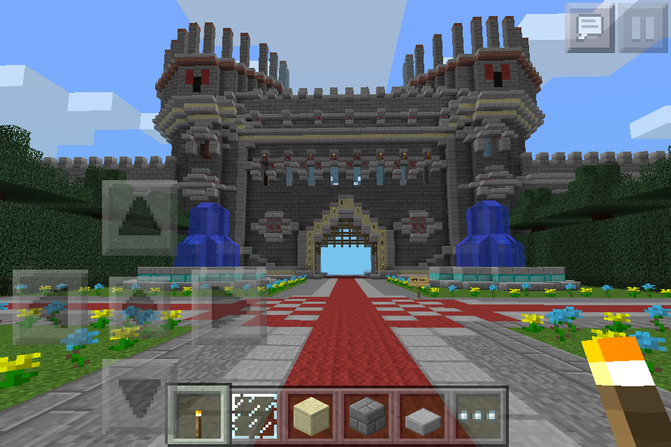 Giant castle map for minecraft android apps on google play giant castle map for minecraft screenshot sciox Image collections